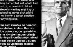 William Branham - Quote on Hunting (Citat o lovu) - 27/08/1961