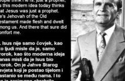 William Branham - Quote on Godhead (Citat o Božanstvu) - 27/08/1961 (1)